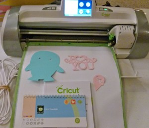 For those of you that are asking, What is a Cricut?  Here is a picture.