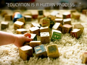 education is a process