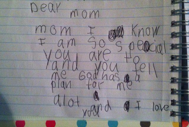 KA's letter