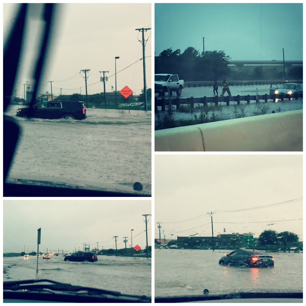 These are pics I took as I sat in my car waiting to  determine whether or not it was safe to proceed