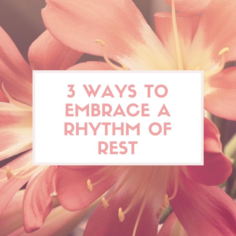3 ways to embrace