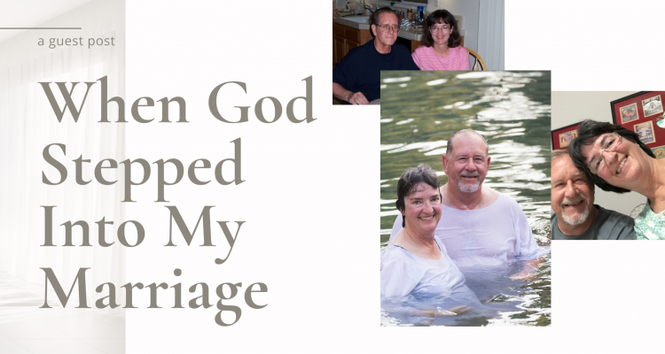When God Stepped Into My Marriage